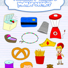 Phonics Blends clipart {Mixed}