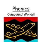 Phonics Center Game &quot;Compound Words!&quot; (Word Work / Spelling Unit)