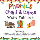 Phonics Chant and Dance Word Family Book and Pocket Chart