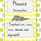 Phonics Decoding Game