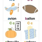 Phonics Flashcards (French)
