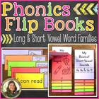 Phonics Flip Books {Long & Short Vowels}