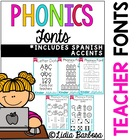 Phonics Fonts for Teachers { Commercial License }