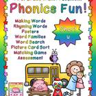 Phonics Fun: Short u Activities