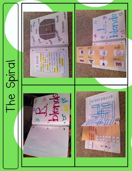 Phonics Fun Spiral - Blends - A 5 week Unit
