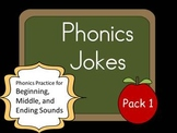 Phonics Jokes 10 Pack (Set 1)