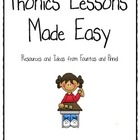 Phonics Lessons Made Easy