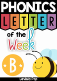 Phonics Letter of the Week Bb {FREE}