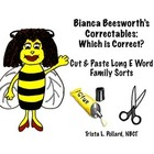 Phonics: Long Vowel Cut & Paste Sorts (Long E Correctables)