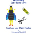 Phonics: Long Vowel Cut &amp; Paste Sorts (Long I &amp; Long O)