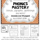 Phonics Mastery- helping students read & write blends, dig