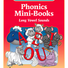 Phonics Mini Books - Long Vowel Sounds (Grades K-2) - by T
