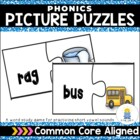 Phonics Picture Puzzles: A Word Study Game (short vowel sounds)