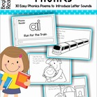 Phonics Readers - 30 Easy Phonics Poems to  Introduce Lett