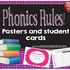 Phonics Rules Made Easy! (phonics rules posters and assessments)
