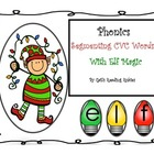 Phonics: Segmenting CVC Words with Elf Magic
