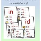 Phonics: Short i  Illustrated Word Wall