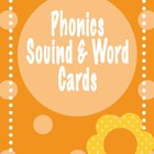 Phonics Sound and Word Cards &amp; Fluency Sheets