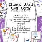 Phonics Word Wall Cards