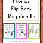Phonics Word Work Flip Books MegaBundle