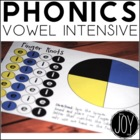 Phonics Work - Finger Knots Vowel Intensive Practice Games