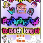 Phonics Workshop - Long a - everything you need!