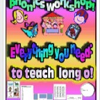 Phonics Workshop - Long o - Everything you need!