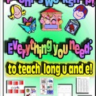 Phonics Workshop - Long u and e - Everything you need!