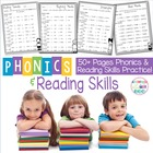 Phonics and Reading Skills Practice Pages #1 (Common Core