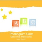 Phonogram Sort - Letter Sound Sort