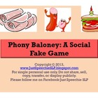 Phony Baloney: A Social Fake Game