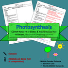 Photosynthesis Cornell Notes #46