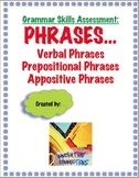 Phrases Test and  Key: Verbals, Prepositional, and Apposit