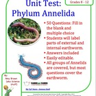 Phylum Annelida (Segmented Worms) Chapter Test