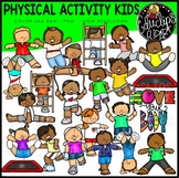 Physical Activity Kids Clip Art