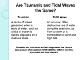 Physical Geography: Natural Disasters - Tsunami