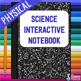 Physical Science Interactive Notebook Kit
