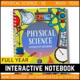 Physical Science Interactive Notebook - The Complete Bundl