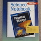 Physical Science by Glencoe, Science Notebook Workbook