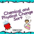 Physical and Chemcial Changes Sort
