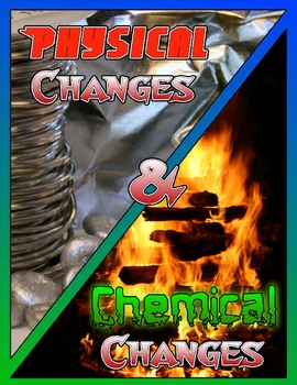 Physical and Chemical Changes Comic
