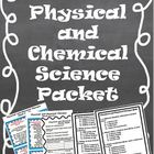 Physical and Chemical Changes *Quiz, Activity Cards, &amp; Stu