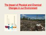 Physical and Chemical Changes and our Environment