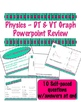 Physics DT &amp; VT Graph Self-paced Review Powerpoint