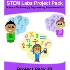 Physics Science Experiment STEM projects pack 3 with 10 mo