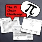 Pi Day! Competitive Team Activity - &quot;The Pi Chain Challeng