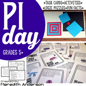Pi Day Pack: Celebrate with these math activites! Pi Day is March 14th!
