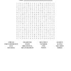 Pi Day Word Search