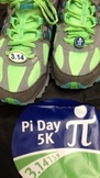 Pi Day shoe charms