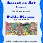 Picasso - Accent on Art, Spanish Art Packets  for the Span